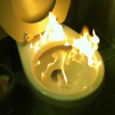 toiletonfire