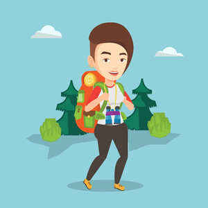 graphicstock-caucasian-backpacker-with-backpack-and-binoculars-walking-outdoor-backpacker-hiking-in-the-forest-during-summer-trip-backpacker-traveling-in-nature-vector-flat-design-illust